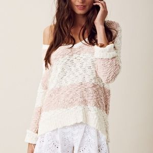 Free People | Chunky Rugby Songbird Sweater